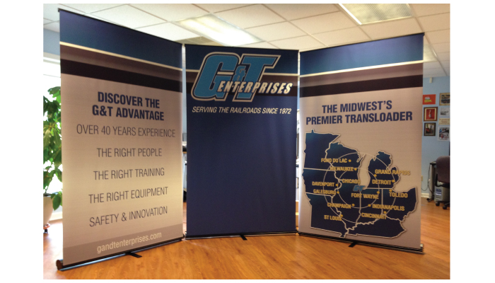 NWI G&T Booth Display