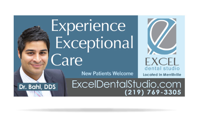 Excel Dental Studio Advertising and Public Relations Designs