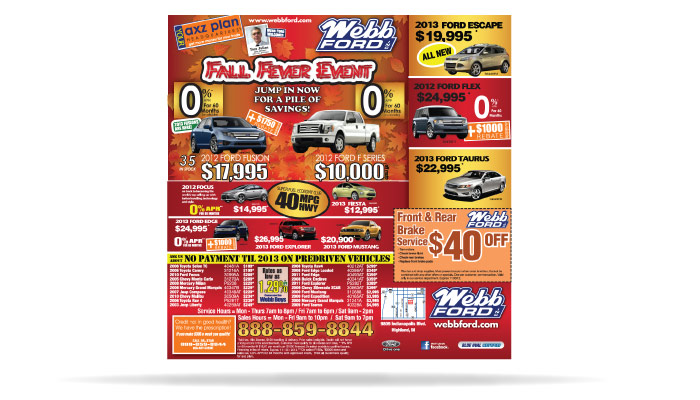 Webb Ford NWI Internet Marketing and Advertising