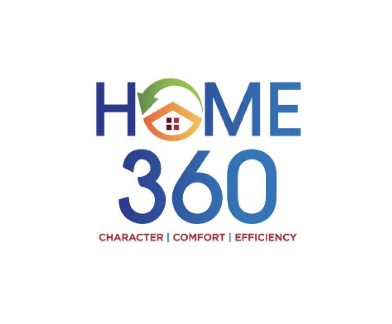 360 Olthof Homes NWI Logo Branding
