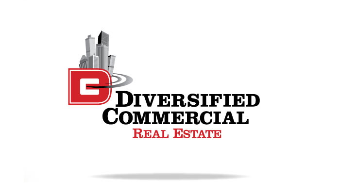 Diversified Commercial Real Estate Branding Logo