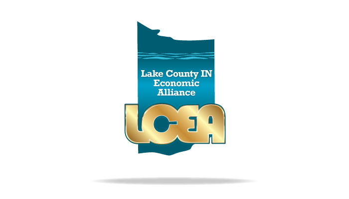 Lake County Indiana Branding Logo