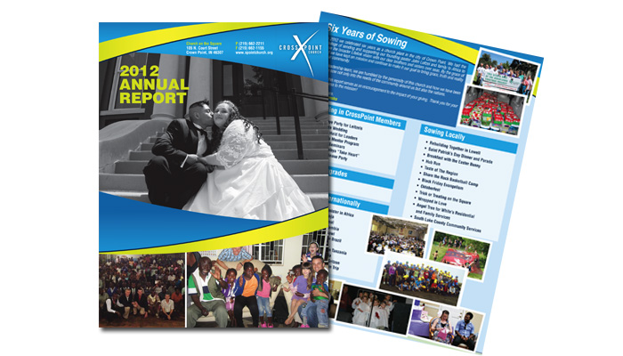 Crosspoint Church Annual Reports and Public Relations