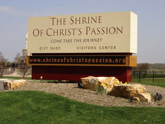 Shire of Christs Passion NWI Sign Design