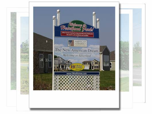 Silver Leaf Northwest Indiana Signage Design