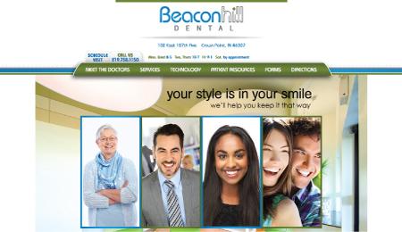 Beacon Hill Dental NWI Wesite Development