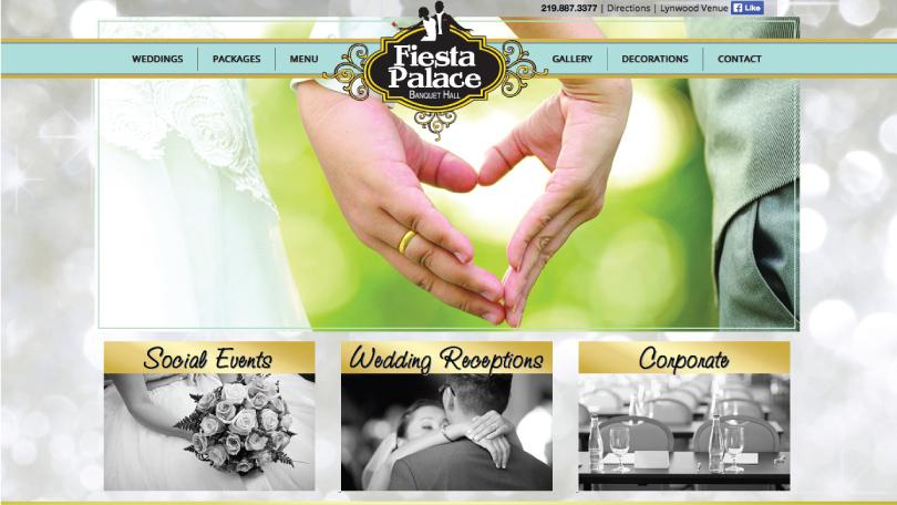 Fiesta Palace Responsive Website Design