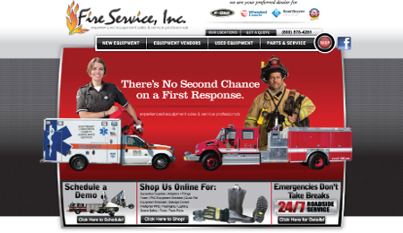 Responsive Web Design Northwest Indiana Fire Services