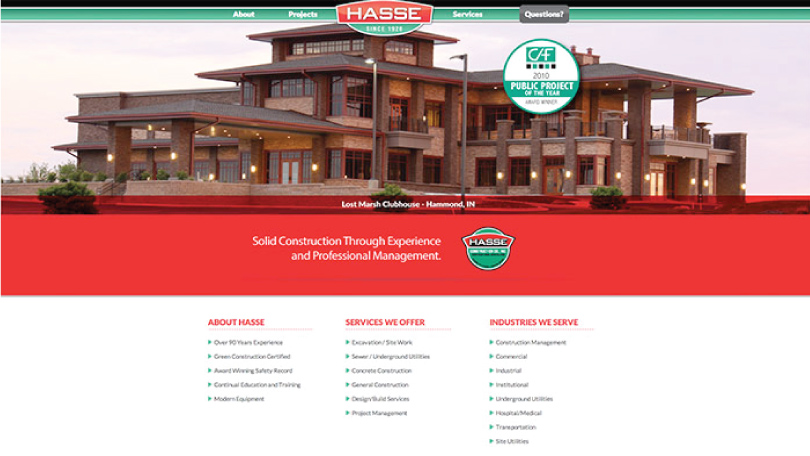Northwest Indiana Responsive Website Development