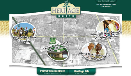 Heritage North Branding Logo and Responsive Website Development
