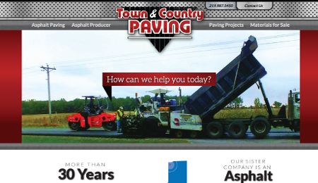 NWI Town & Country Paving Website Development