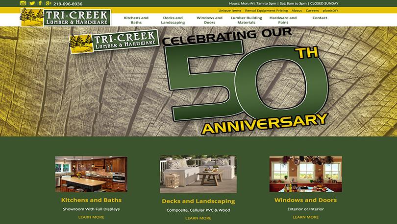 Northwest Indiana Responsive Website Design