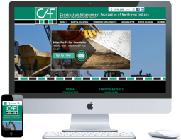northwest indiana website design Construction Advancement Foundations Construction Industry responsive cms