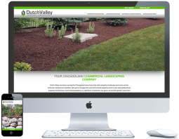 northwest indiana website design Dutch Valley Landscaping Landscape Contractors