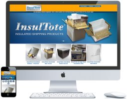 northwest indiana website design InsulTote Insulated Shipping Products ecommerce cms