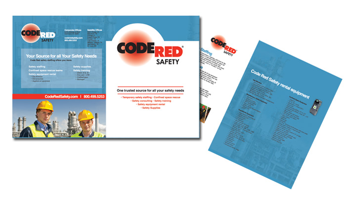 nwi brochure and print code red brochure