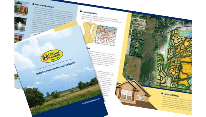 nwi brochure and print olthof homes